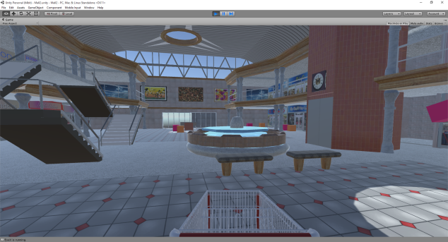 Picture of a virtual shopping mall